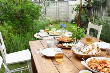庭での愉しみ方<br />Pleasing one in the garden