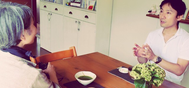 「晒柿」(しゃれがき)さんが、我が家に遊びにきてくれました〜 ♪
