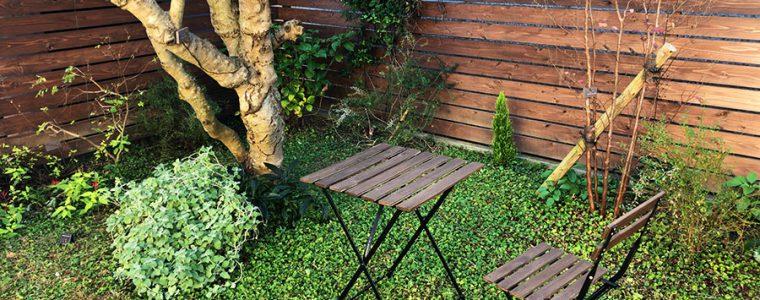 アルフレスコを実践されているお庭