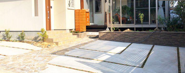 豊川市のH様邸の外構完成