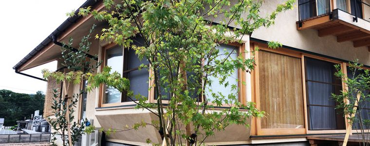 豊川市のS様邸の造園工事_完工