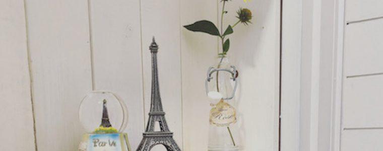剪定したお花はお部屋に活ける+お庭にゴミ箱を置くとラク♪